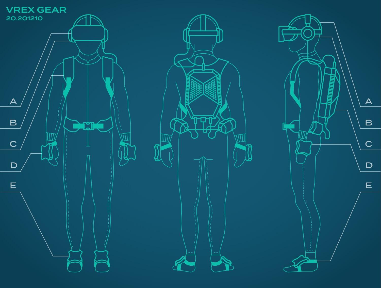 VR-upplevelse med Full Body Tracking